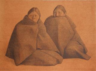 Chamulas Rojo by Francisco Zuñiga