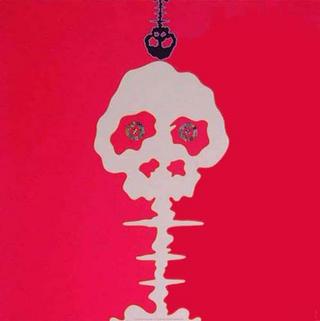 Mushroom Bomb Pink by Takashi Murakami