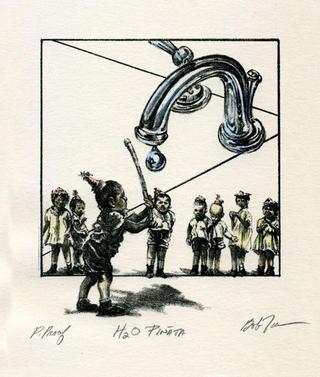 H2O Pinata by Bob Tomolillo