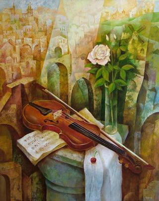 The Viola by Victor Kinus