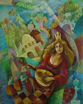 The Queen of Chess by Victor Kinus