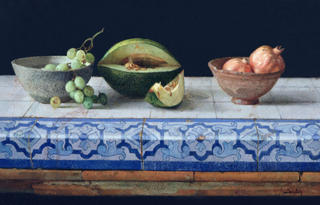 Sevillian Still Life by Félix Beristain