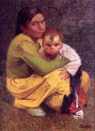 Little Gypsies by Félix Beristain