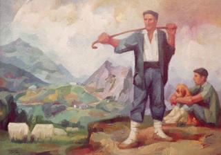Irrintzi by Félix Beristain