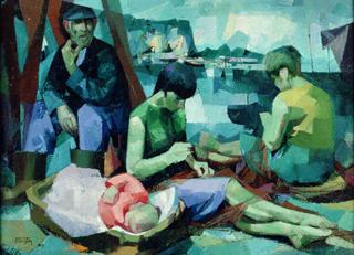 Sarea Konpontzen by Félix Beristain