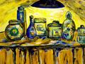 Perfumes en Canvas by Sarrias Cruxent