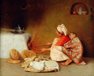 Moroccan Kitchen (Imilchil) by Félix Beristain