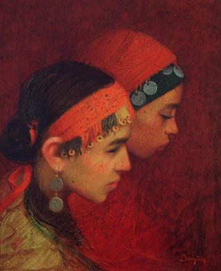 Jovenes Bereberes by Félix Beristain