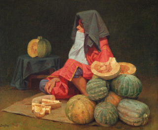 Gourd Seller by Félix Beristain