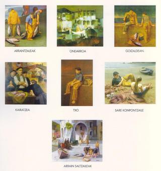 Portfolio of Seven Prints Marine Theme by Félix Beristain