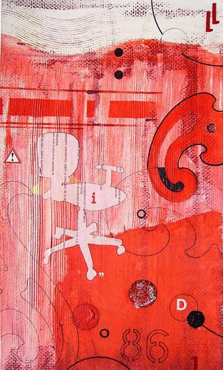 Red 86 by Alma Larroca