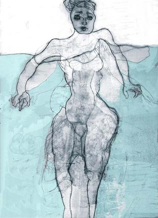 Woman Treading Water by Susan Williams