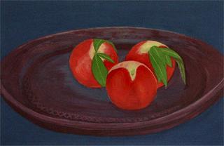 Nectarine by Elena Cabrera