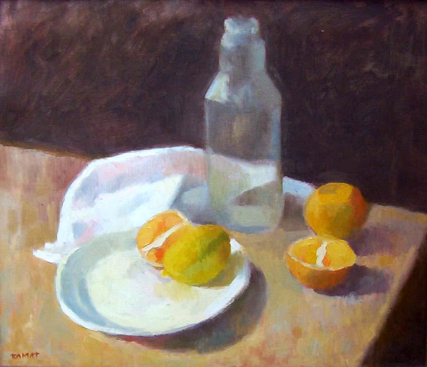 Oranges by Manuel José Ramat