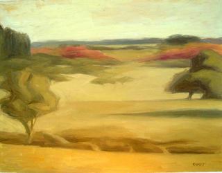 Landscape by Manuel José Ramat
