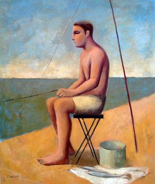 Fisherman Sit by Manuel José Ramat