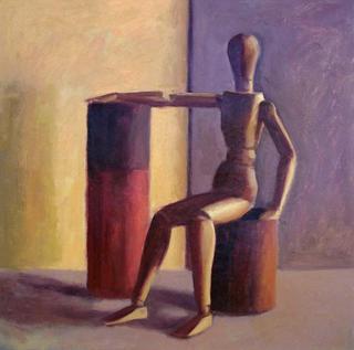 Wood Boy Doll 2 by Manuel José Ramat