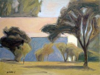Landscape with House by Manuel José Ramat