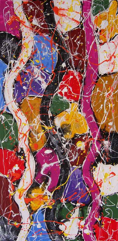 Abstract Composition A1 by Salvatore Tonnara