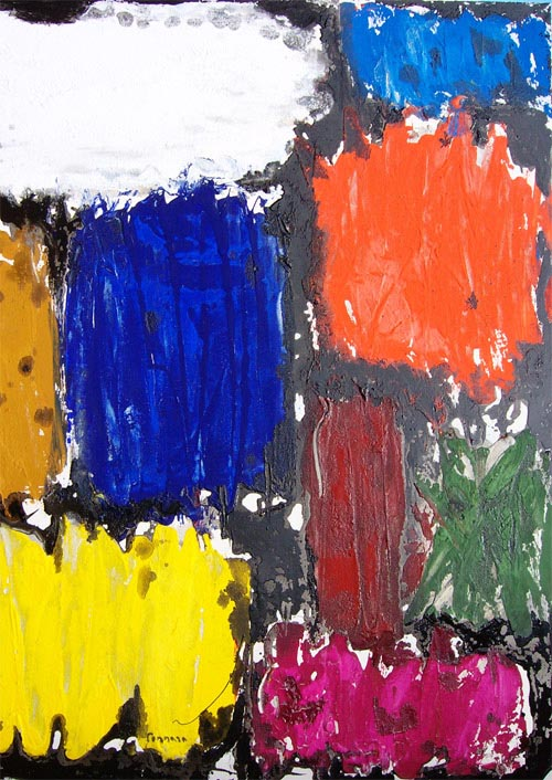 Abstract Composition A4 by Salvatore Tonnara