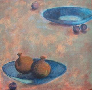 Cherry and Pomegranate by Monserrat Casacuberta