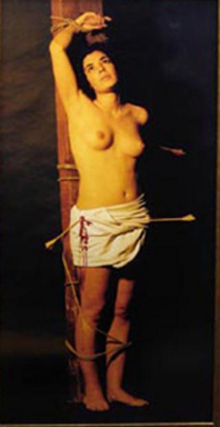 Saint Sebastiene by Carlota Figueras