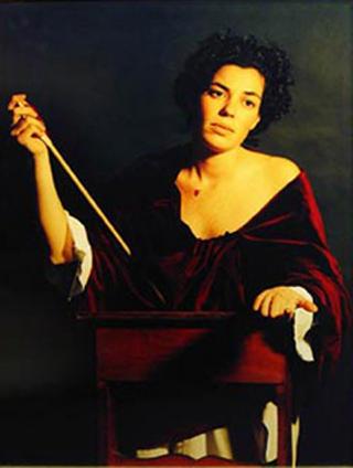 Saint Christina by Carlota Figueras
