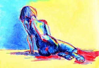 Moody Blue by Ellen Woodbury