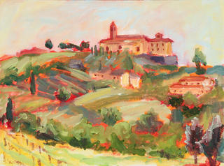 Tuscan Vines by Marie Massey