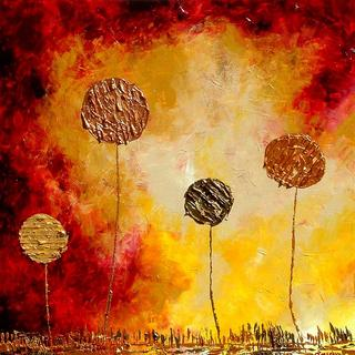 Mars Landscape by Jane Rusin