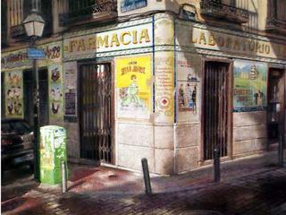 Pharmacy by Jesús Nieto Pantoja