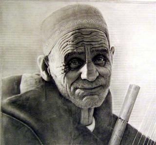 Oriental Musician by Magnoni