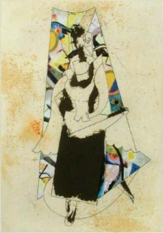 The Cubism 7 by Manolo Valdés