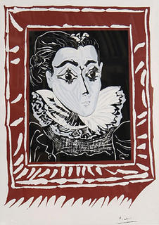 Lady with a Ruff Collar by Pablo Picasso