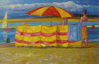 Windbreak and Parasol,1 by John Reay