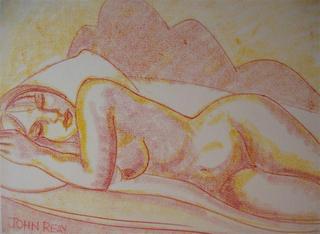 Model Resting 2 by John Reay