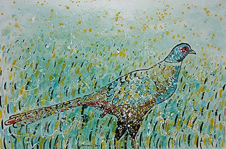 Pheasant by Salvatore Tonnara