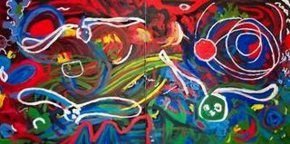 Crosswinds (Diptych) by Dawn Price