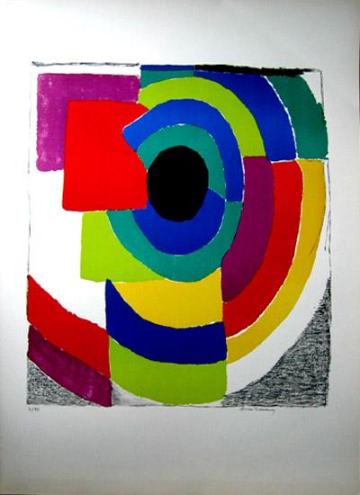 Untitled 3 Original Art By Sonia Delaunay Picassomio