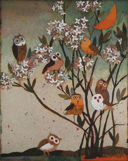 Eulenabend (Owl Evening) by Jutta Votteler