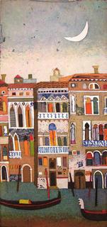 Venedig Cancale Grande (Venice Grand Canal) by Jutta Votteler