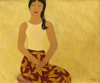 Burmese Lady III by Min Zaw