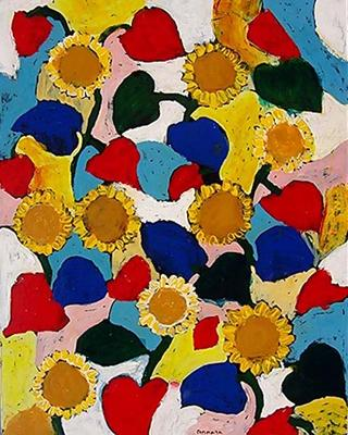 Sunflowers by Salvatore Tonnara