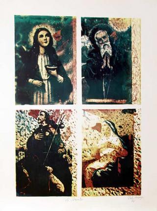Four Saints by Italo Scanga
