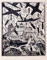 Monte Cassino (b&w) by Italo Scanga
