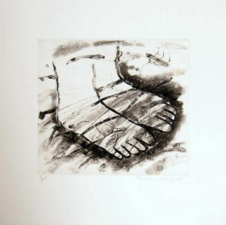 Untitled (Feet) by Louisa Chase