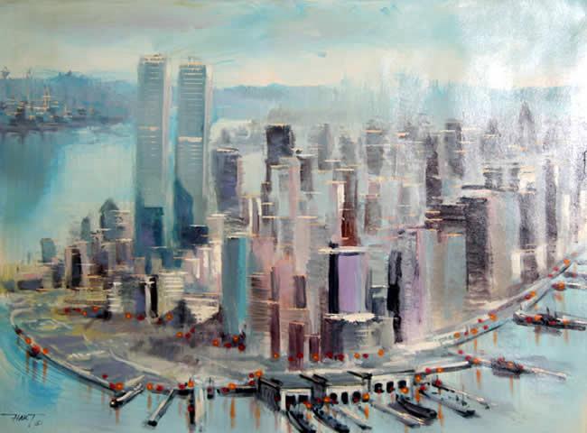 Lower Manhattan I by Hart