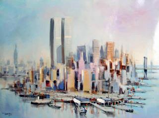 Lower Manhattan II by Hart