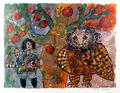 La Cloche (Portfolio: Un Hommage a H.C. Andersens) by Theo Tobiasse