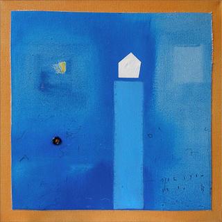 Blue Tower by Lidoska Guietti